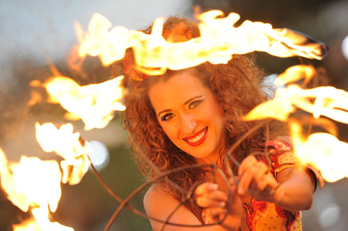 Fire Dancer - Orlando