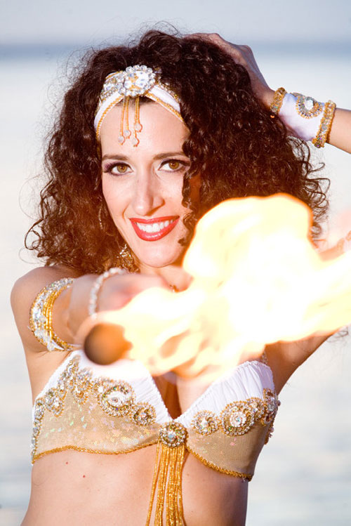 Fire Belly Dancer