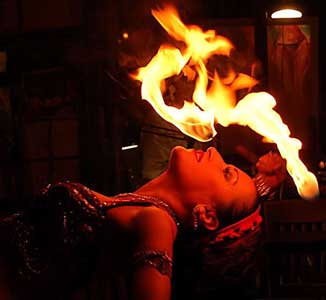 Amora Belly Dancer Fire Dancer