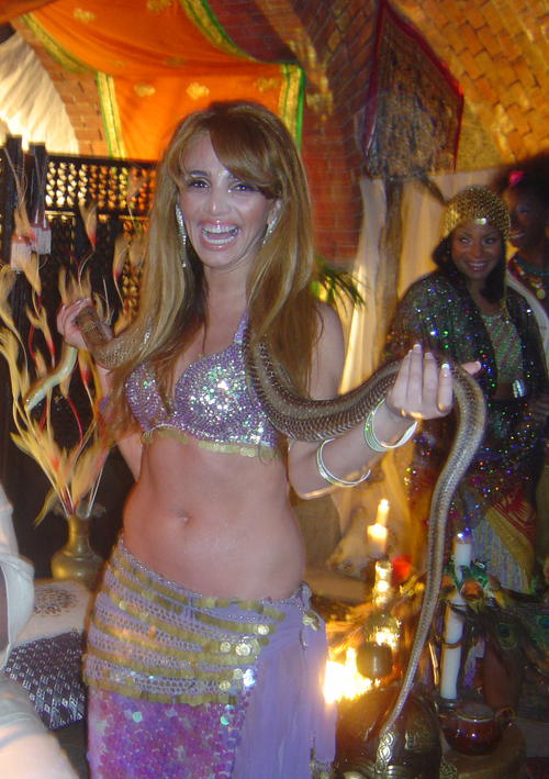 Belly Dancers Nyc Anna Belly Dancer With Snake