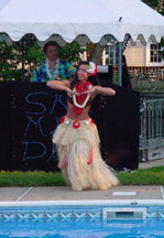 Hula Dancer - Monmouth County, New Jersey