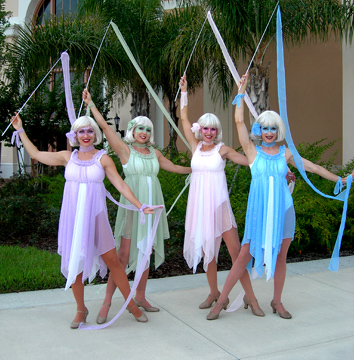 ribbon dancers Orlando