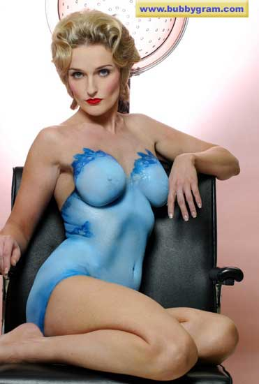 Body Painter - Blue Chemise