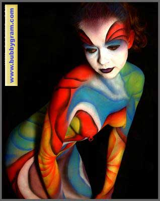 Body Painter - Kabuki Palette