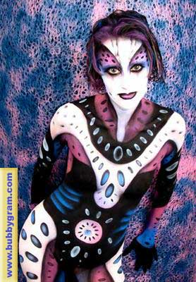 Body Painters - Rock Star