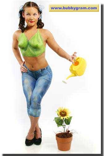 body painter - watering can