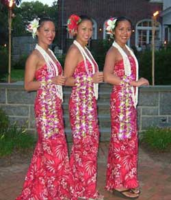 hula dancers NY NJ CT