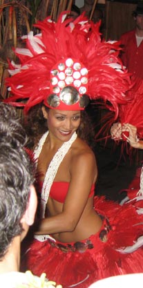 hawaiian dancer  hula show new york