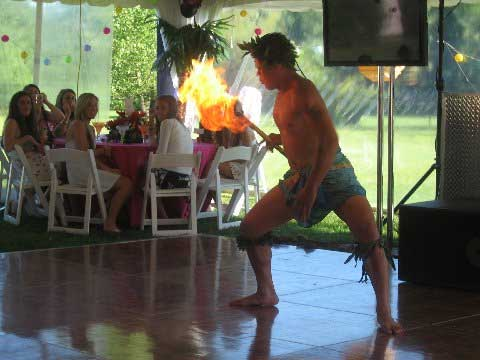 Samoan Fire Dancer NY
