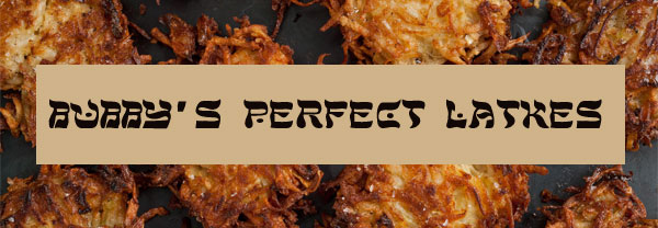 Bubby's Perfect Latkes