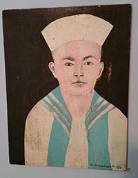 Folk Art/Naive Art - Sailor