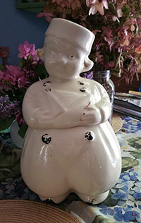 Dutch Boy Cookie  Jar