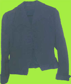 Vintage Navy Blue Jacket  1950's