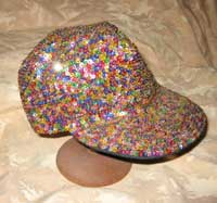 1980's Sequinned Baseball Cap