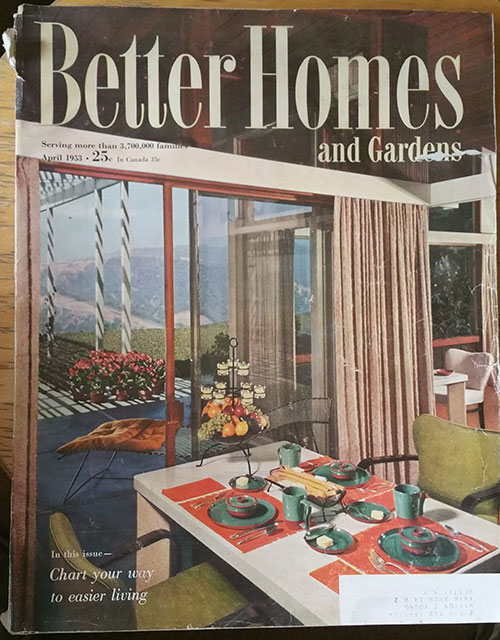 Better Homes and Gardens April 1953