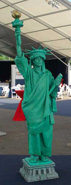 Statue of Liberty Impersonator