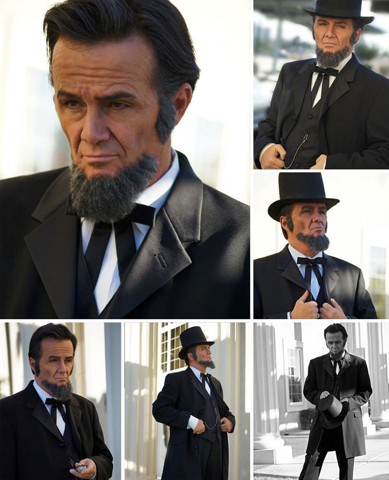 Abe Lincoln impersonator - Las Vegas