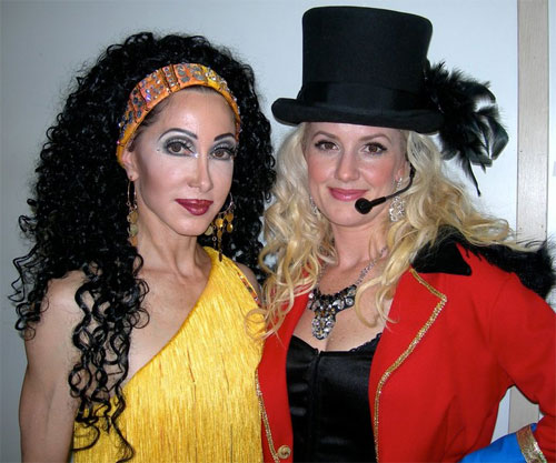 Cher and Britney lookalkes - Orlando FLA