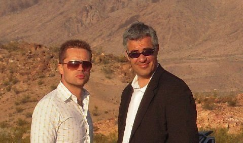 George Clooney and Brad Pitt Lookalike
