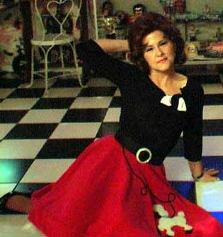 Connie Francis Impersonator