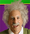 Albert Einstein impersonator - Washington, DC
