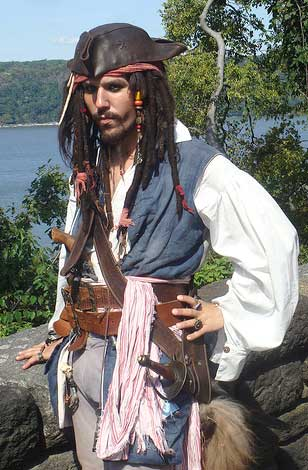 Capitain Jack Sparrow Impersonator
