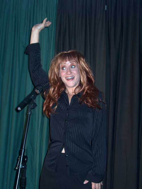 Kathy Griffin impersonator - Florida