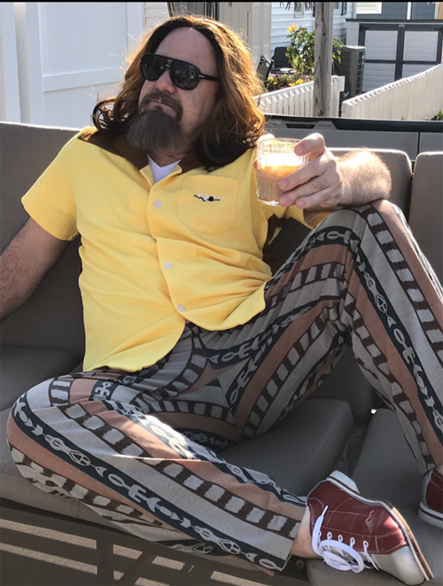 The Dude Lebowski impersonator