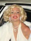 Marilyn Monroe impersonator New York