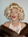 Marilyn Monroe impersonator - drag - NYC