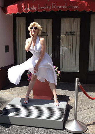 Marilyn Monroe look alike - Orlando, Florida