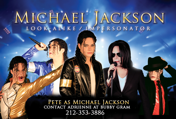 Michael Jackson impersonator -  Los Angeles