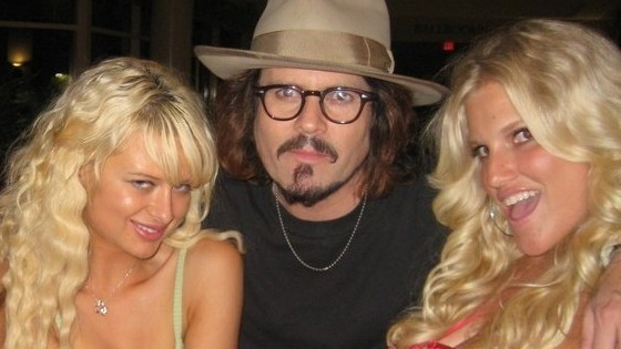 Paris Hilton - Johnny Depp -Jessica Simpson lookalikes - LA