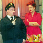 The Honeymooners - Ralph and Alice Kramden  Florida