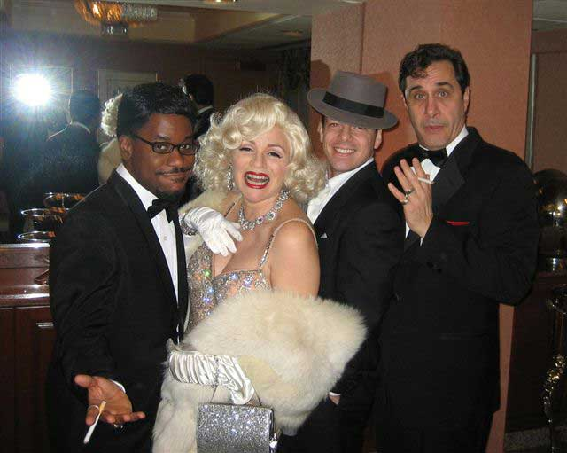 Rat Pack with Marilyn Monroe - Impersonators - NY