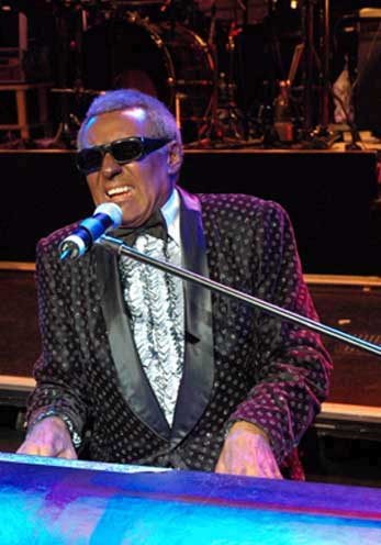 Ray Charles impersonator