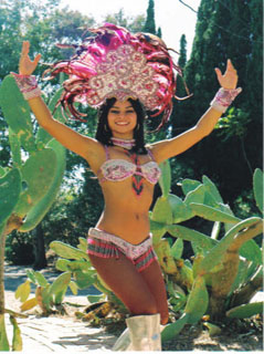 Samba Dancers - L.A., California
