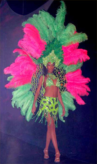 Showgirls and Samba Dancers