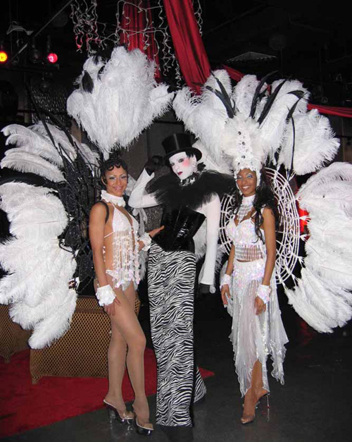 Show Girls Samba Dancers