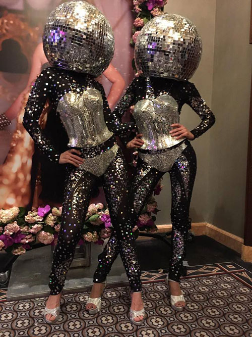 Disco Balls - Black Costume