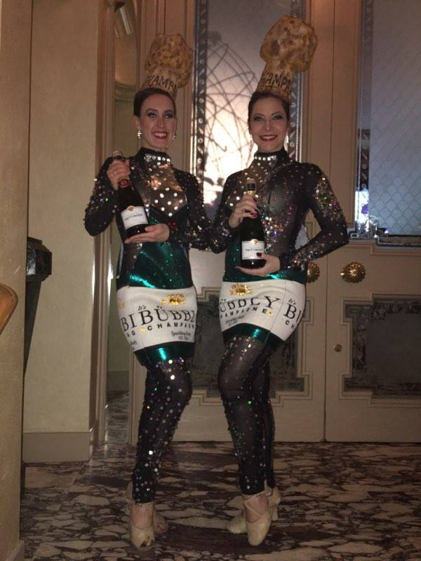 Champagne Costumes with