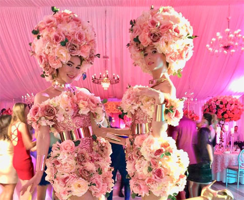 Pretty in Pink Flower Girls